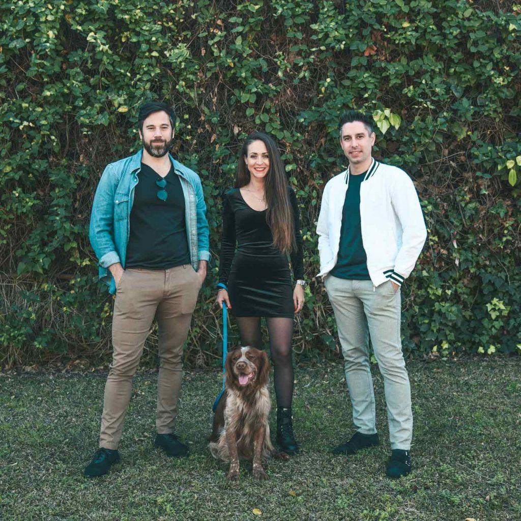 About Us - Founding Team - Rafael Lopez, Jessie Akkermans, Julien de Waal - Doggies in Town