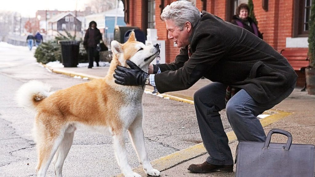 Hachi - Top Dog Movies - Doggies in Town - Hachiko - A Dog's Tale