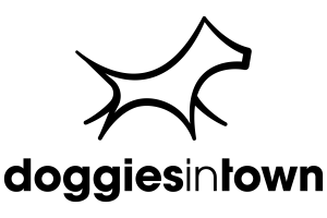 Apps for dogs in search of the best application - Doggies in Town Logo - Doggies in Town