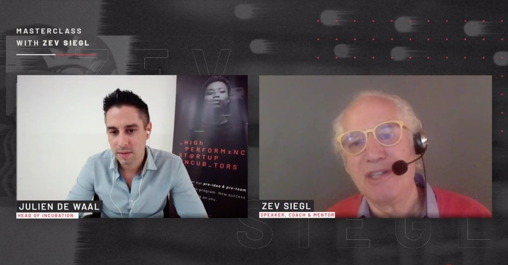 Julien, Co-Founder of Doggies in Town Interviews Zev Siegl, Co-Founder of Starbucks - Video - Doggies in Town